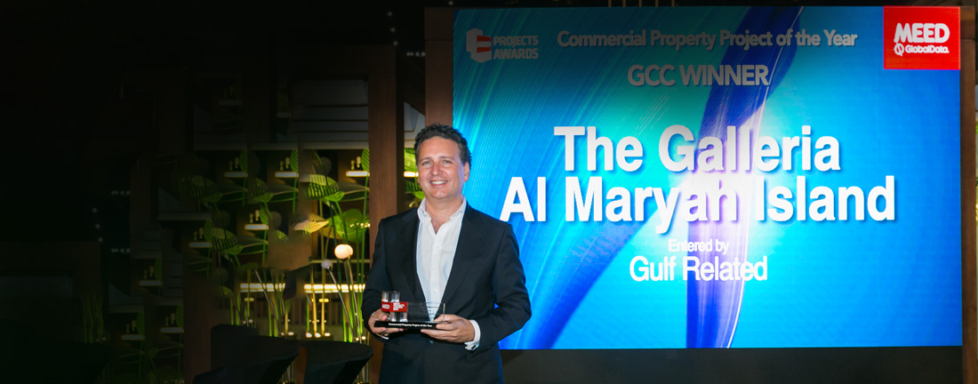 The Galleria Al Maryah Island named 'GCC Commercial Project of the Year' by MEED Projects Awards 2020